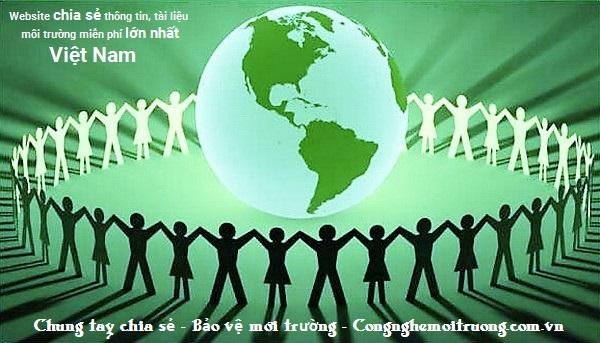 Chung tay chia sẻ - bảo vệ môi trường - Tài liệu môi trường