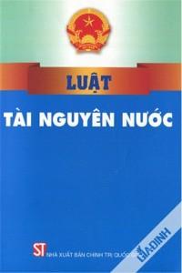 Luật tài nguyên nước 2012