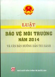 Luật bảo vệ môi trường 2014