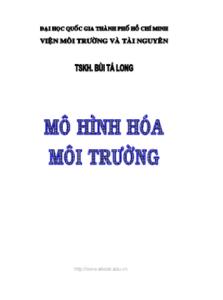Mô Hình Hóa Môi Trường - TSKH.Bùi Tá Long