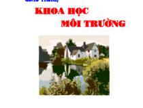 Giáo trình Khoa Học Môi Trường – Nguyễn Khoa Lân