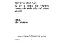 Sổ Tay Hướng Dẫn Xử Lý Ô Nhiễm Môi Trường Tập 10 – Nguyễn Đinh Tuấn