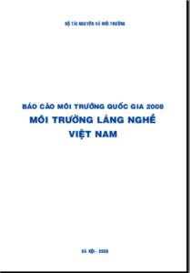 Báo Cáo Hiện Trạng Môi Trường Quốc Gia_2008