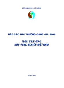 Báo Cáo Hiện Trạng Môi Trường Quốc Gia_2009