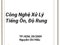 Giáo trình Công Nghệ Xử Lý Tiếng Ồn, Độ Rung – Nguyễn Chí Hiếu