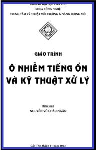 Giáo Trình Ô Nhiễm Tiếng Ồn