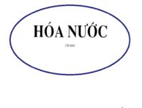 Giáo trình Hoá Nước  –  Nguyễn Văn Bảo