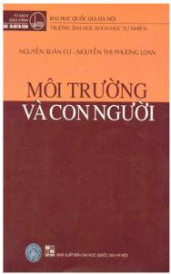Giáo trình Môi Trường Và Con Người _ Nguyễn Xuân Cự