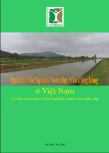 Quản lý tài nguyên nước dựa vào cộng đồng ở Việt Nam - Nguyễn Việt Dũng