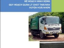 Kế hoạch hành động quy hoạch quản lý chất thải rắn Huyện Hoài Nhơn