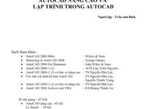 AutoCAD nâng cao và lập trình trong AUTOCAD