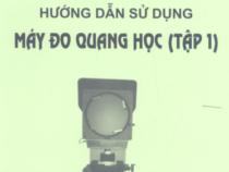 Hướng dẫn sử dụng máy đo quang học tập 1