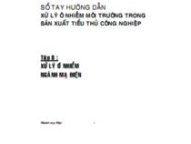 Sổ Tay Hướng Dẫn Xử Lý Ô Nhiễm Môi Trường Tập 8 – Nguyễn Thanh Hồng